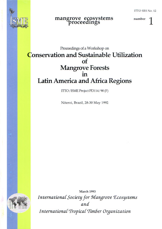 ISME Mangrove Ecosystems Proceedings - No. 1