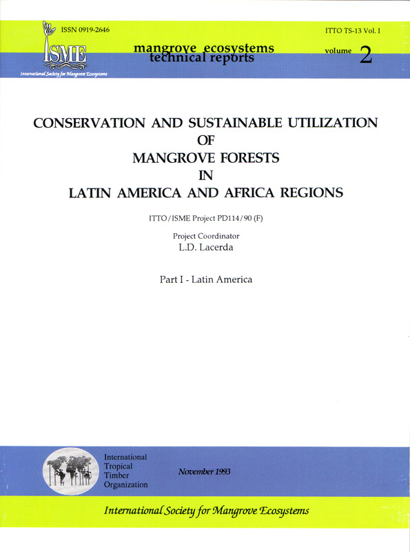 ISME Mangrove Ecosystems Technical Reports Vol. 2 - Latin America